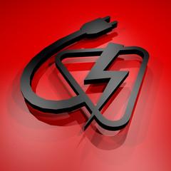 Electric power symbol