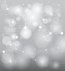 winter star background