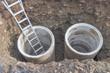 canvas print picture - Manhole detail
