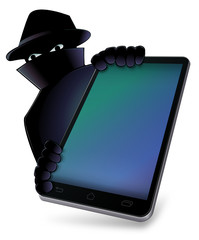 Mobile device and crime