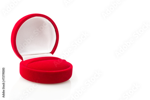 box with a ring, marriage proposal isolated - 73791000
