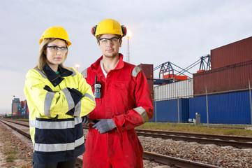 Rail transport transit guards