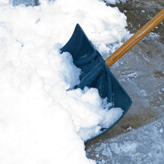 Shoveling Snow after a winter storm