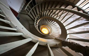 Beautiful staircase in Riga