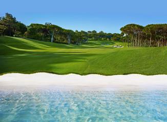 Golfing in Algarve, Portugal