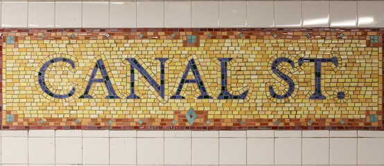 Canal Street Sign