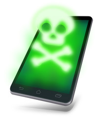 Infected mobile device
