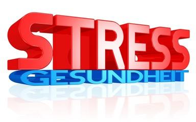 Stress erdrückt die Gesundheit