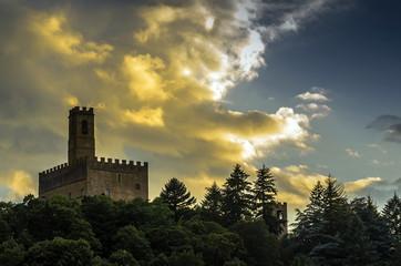 Castello di Poppi - veduta
