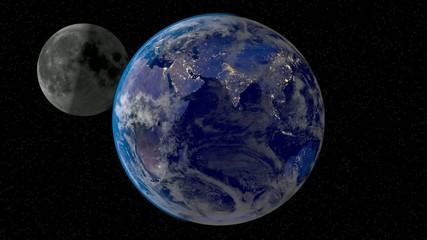 Mond Erde
