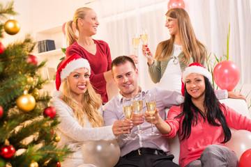 Celebrating Christmas or New Year