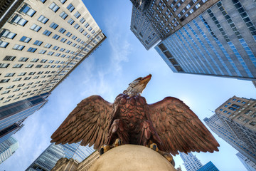 Eagle Statue, Grand Central Terminal, New York