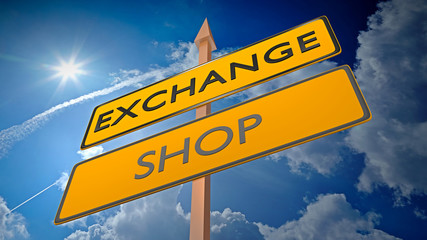 Exchange vs Shop - Commercial Strategy