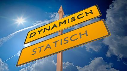 Dynamisch vs Statisch - Veränderung, Modern, Anpassen