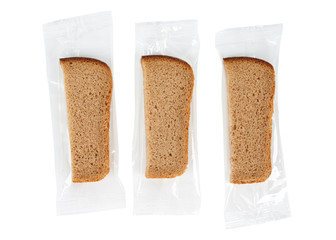Packed slices of bread
