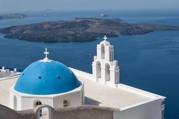 Agios Theodori Church in Santorini, Greece