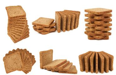 Six heaps of bread