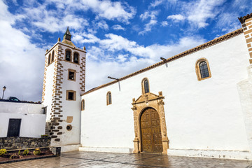 cathedral church of Saint Mary of Betancuria in Fuerteventura,