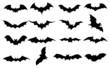 Bats icons set - 73797237