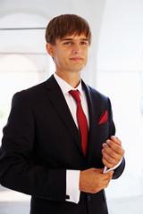Beautiful groom