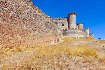 City wall and castle of  Belmonte
