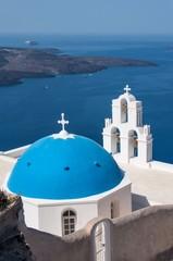 Agios Theodori Church in Fira, Santorini