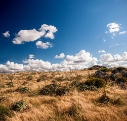 Sardegna, panorama selvaggio del sud