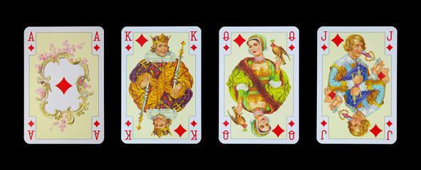 Spielkarten in Luxus und Nostalgie - KARO