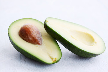 raw avocado fruit