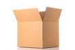 Leinwandbild Motiv Open cardboard box
