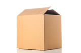 Cardboard box closeup - 73799411