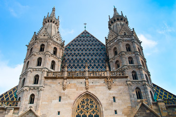 St. Stephan Cathedral in Vienna, Austria.