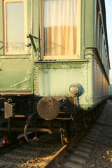 the old passenger train