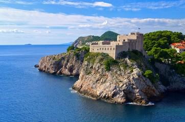 Dubrovnik Festung Lovrijenac - Dubrovnik Fort Lovrijenac 01