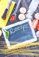 board for recipe