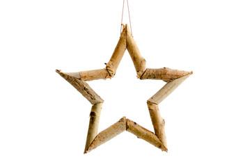 Stern aus Naturmaterial