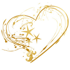 christmas heart symbol