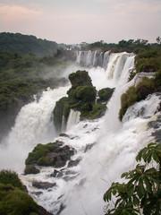 Iguazu Falls Row Of Falls