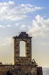 Resti di un antico campanile