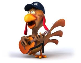 Fun chicken