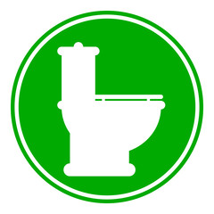 Toilet button