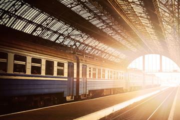 Train at dawn
