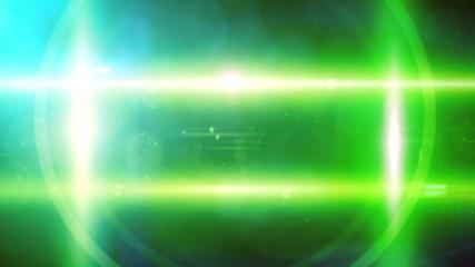 Lens flare motion frame