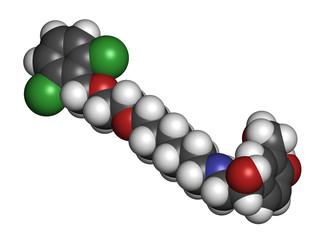 Vilanterol COPD drug molecule.