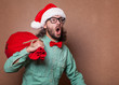 crazy fashion santa claus