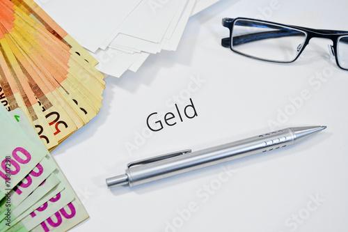 geld Poster