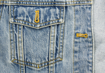 jeans texture with pockets