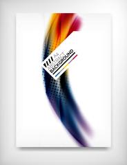 Flyer, Brochure Design Template, Layout