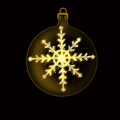 adorno de navidad con estrella de nieve