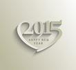 Zdjęcia na płótnie, fototapety, obrazy : Happy new year 2015 Text Design
